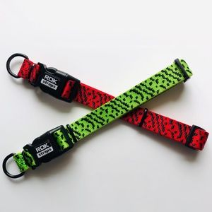 NWOT ROK Straps set of 2 Dog Collar Straps Large